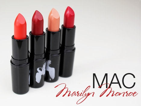 MAC Marilyn MAC Marilyn Monroe   review, photos & swatches