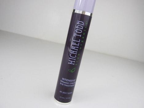 MichaelToddeyecream5 Michael Todd True Organics INTENSIVE Cream Eye Treatment   Review