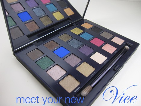 UD Vice1 Urban Decay Vice Palette   review, photos & swatches