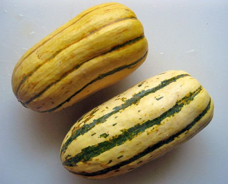 StuffedSquash2 Bacon Stuffed Delicata Squash Recipe