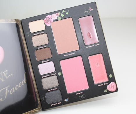 TooFacedLove6 Too Faced Love Sweet Love Set   Review, Photos & Swatches