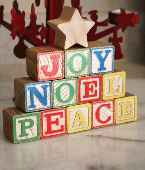 How-To: Wood Block Holiday Decorations