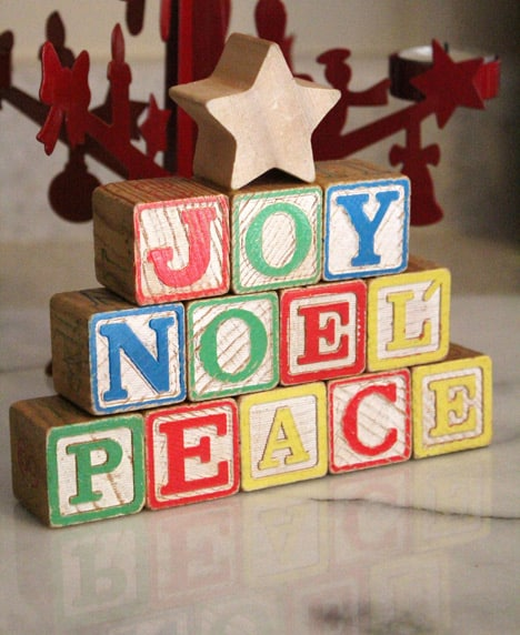 Blocks6 How To: Wood Block Holiday Decorations