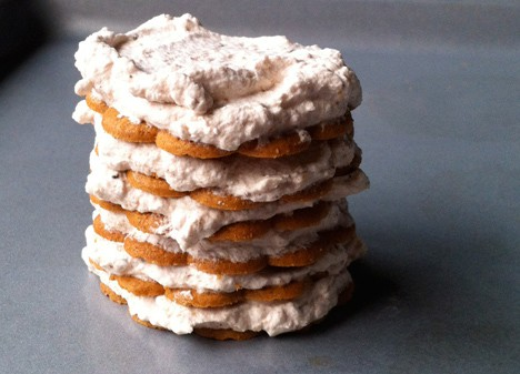 GingerCake4 An Updated Classic   Ginger Icebox Cake Recipe