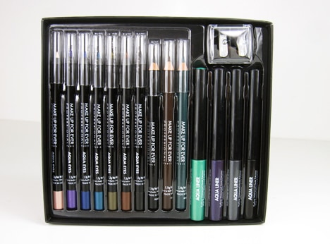 MUFEultimate3 MAKE UP FOR EVER: The Ultimate Eye Liner Collection   review, swatches and swooning