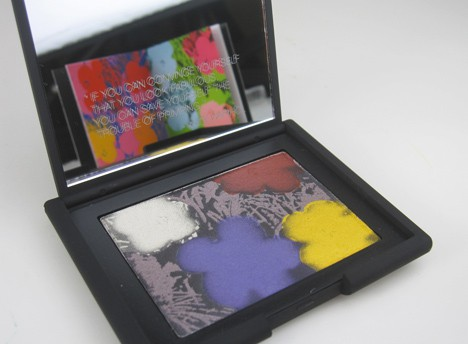 NARSFlowers1 NARS Andy Warhol Flowers 1 Eyeshadow Palette   review, swatches & looks