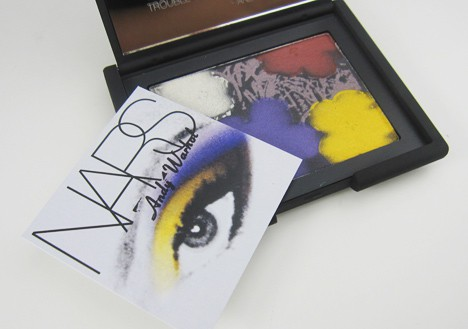 NARSFlowers10 NARS Andy Warhol Flowers 1 Eyeshadow Palette   review, swatches & looks