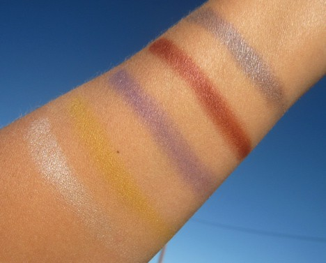 NARSFlowers7 NARS Andy Warhol Flowers 1 Eyeshadow Palette   review, swatches & looks
