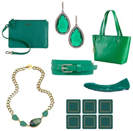 How to Wear Pantone's Color of the Year: Emerald