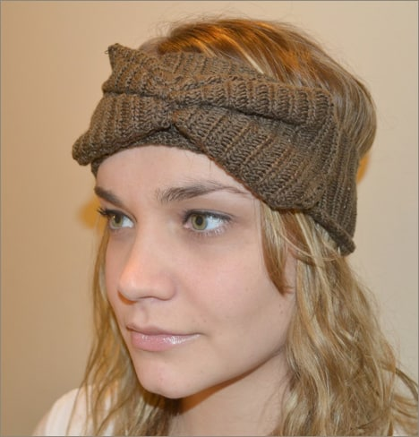 DIY Sw Headband 8 How To: From Old Sweater to Winterized Headband