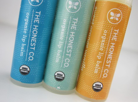 HonestLipBalm1 The Honest Company Organic Lip Balm Trio Review