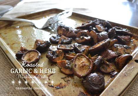 Roasted Garlic & Herb Mushroom Medley Recipe