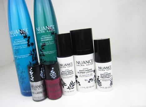 NuanceParty2 Nuance Salma Hayek for CVS   Beauty Blogger Party