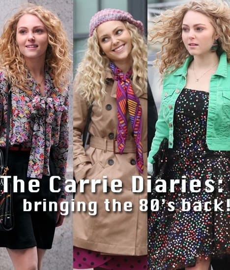 Back to the 80's! The Top 8 Fashion Picks Inspired by The Carrie Diaries