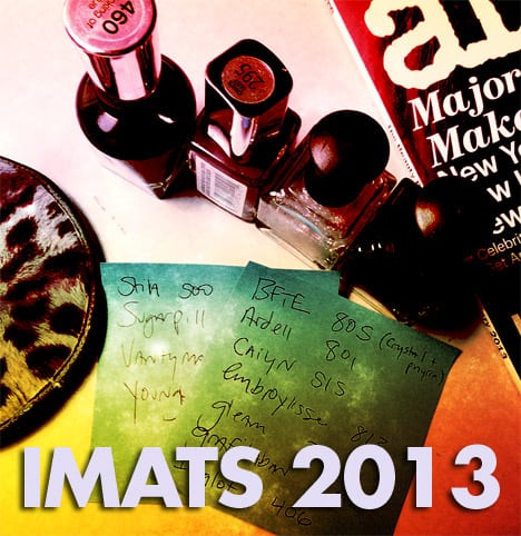imats2013 Take a peek at my IMATS 2013 haul...