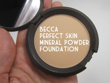 BeccaMineral1 BECCA Perfect Skin Mineral Powder Foundation Review