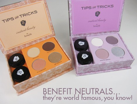 BenefitNeutral1 Benefit World Famous Neutrals kits   review, photos & swatches