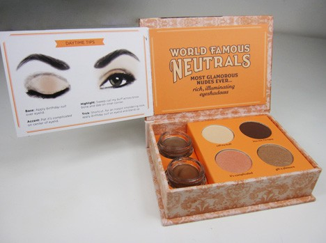 BenefitNeutral2B Benefit World Famous Neutrals kits   review, photos & swatches