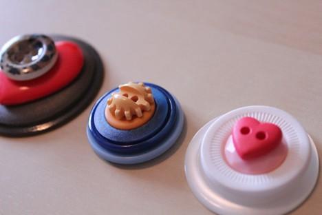 DIY Button 6 DIY: Cute as a Button Magnets