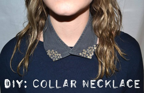 DIYcollar1 How To: DIY Collar Necklace