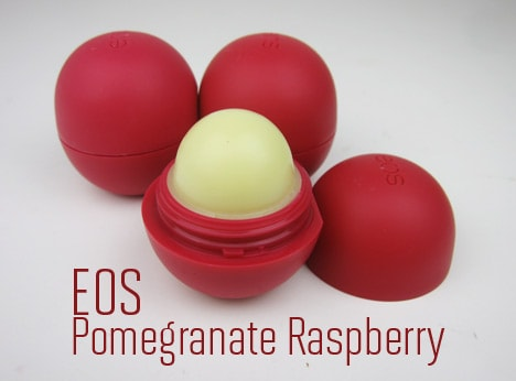 Eos lip balm pomegranate raspberry
