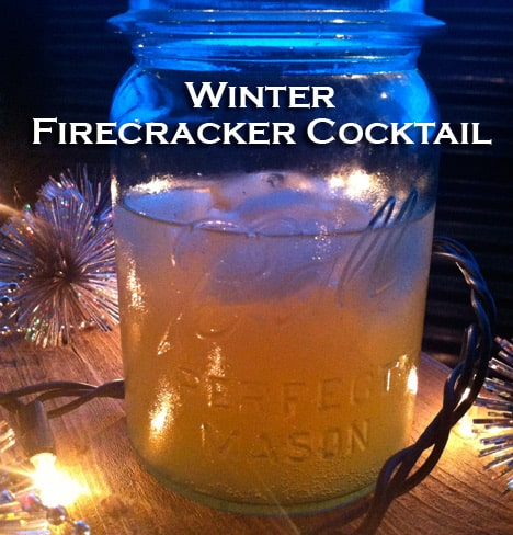 Winter Firecracker Cocktail Recipe