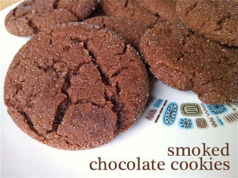 Smoked Chocolate Cookies Recipe