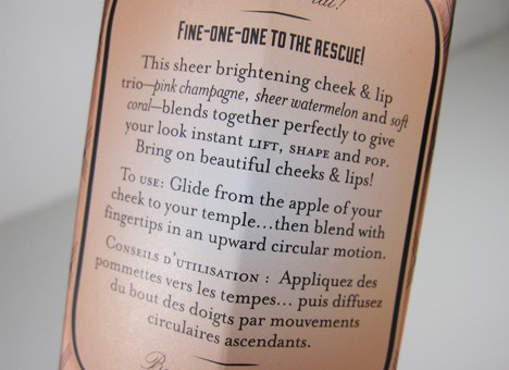 BenefitFine3 Benefit Fine One One   review and swatches