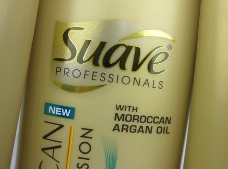 Suave3 Suave Professionals Moroccan Infusion Haircare Review
