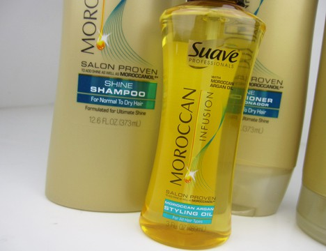 Suave5 Suave Professionals Moroccan Infusion Haircare Review