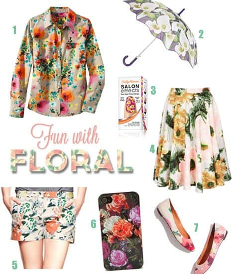 7 Fashion Finds: It's Time to Get Fun With Floral!