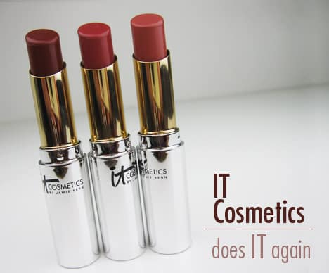 ITVitalityButter IT Cosmetics Vitality Lip Flush Butter   swatches & review