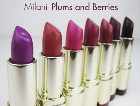 MilaniPlum1 Milani Color Statement Lipstick   swatches and review