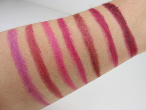 MilaniPlum6 Milani Color Statement Lipstick   swatches and review