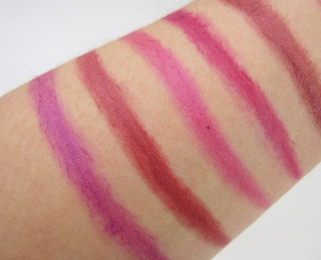 MilaniPlum7 Milani Color Statement Lipstick   swatches and review