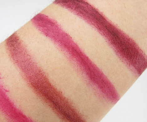 Milani Color Statement Lipstick Swatches