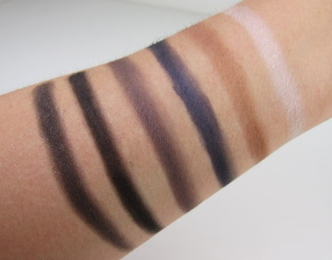 NYXNatSmok12 NYX  Natural Eyeshadow Palette and Smokey Eyeshadow Palette   swatches and review