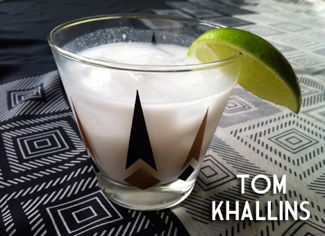 Cocktail of the Month – Tom Khallins