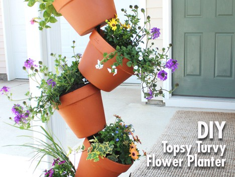 9618A DIY Garden Project: Topsy Turvy Flower Planter