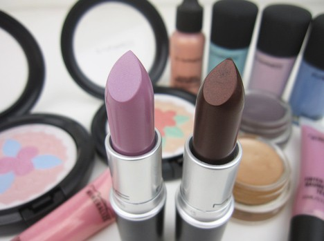 MACbeautieslips1 MAC Baking Beauties, lips & eyes – swatches and review