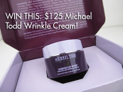 MichaelToddRoseGiveaway GIVEAWAY: Michael Todd Damascus Rose Cream (a $125 value!)