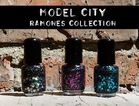 ModelCityRamones1 Indie Nail Polish Spotlight: Model City Ramones Collection