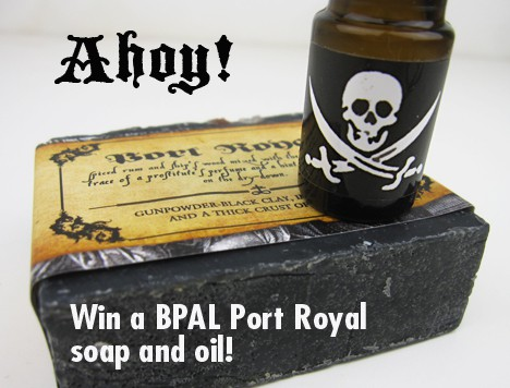 PortRoyalGiveaway BPAL Port Royal and Jolly Roger GIVEAWAY: Win a perfume oil and a soap fit for a Pirate