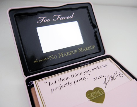 Too Faced No Makeup palette