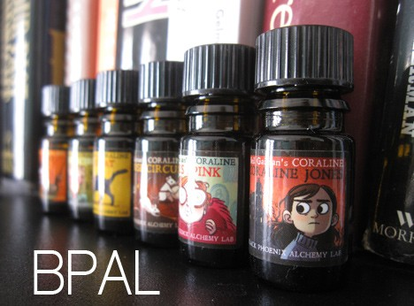 BpalCoraline1 BPAL Coraline by Neil Gaiman Collection   Review