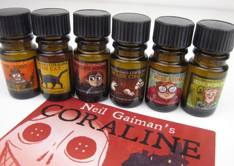 BpalCoraline2 BPAL Coraline by Neil Gaiman Collection   Review