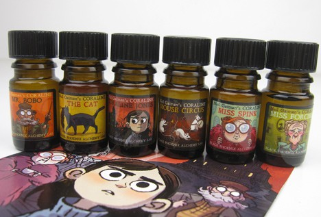 BpalCoraline3 BPAL Coraline by Neil Gaiman Collection   Review
