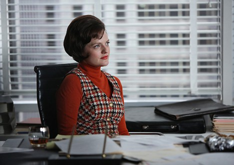 Mad Men Peggy in charge Mad Men Musings: In Care of