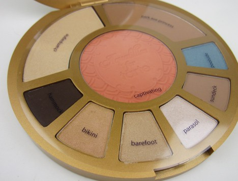 tarteAquapalette3 Aqualillies for tarte palette   swatches and review