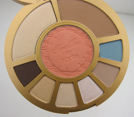 tarteAquapalette4 Aqualillies for tarte palette   swatches and review